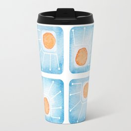 Watecolor Squares Travel Mug
