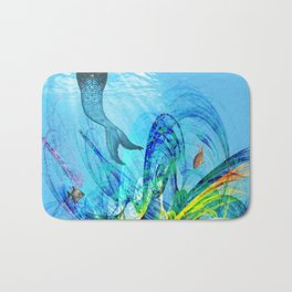 Mermaid house Bath Mat