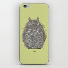 Avocado Totoro iPhone Skin