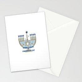 Keep Calm Dreidle On Stationery Cards