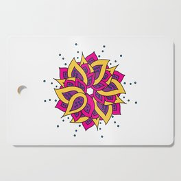 Lotus Mandala Cutting Board