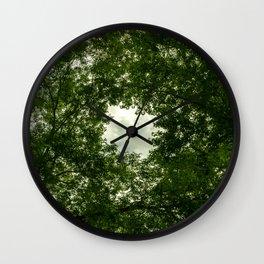 look up #2 Wall Clock