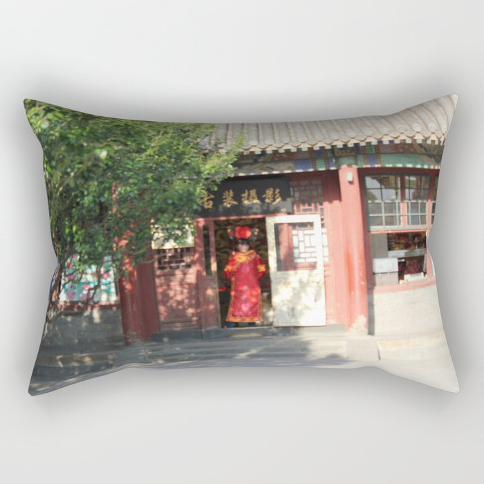 The Summer Palace Gift Shop Rectangular Pillow