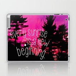 Sunrises are New Beginnings Laptop & iPad Skin