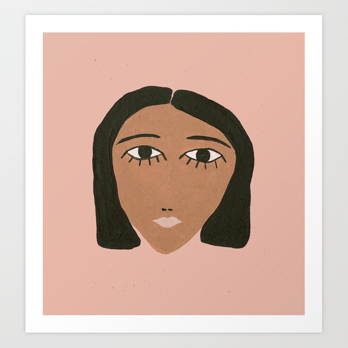 Coco just woke Art Print