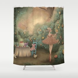 Flowers for the Table Shower Curtain