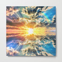 color map of the sun Metal Print