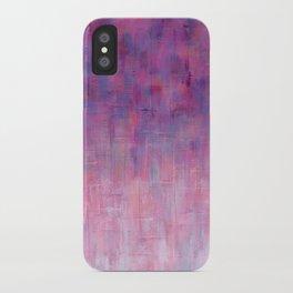 Warm Rain iPhone Case