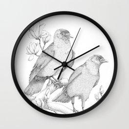 Jack & Daw Wall Clock