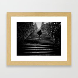 Piazzale Framed Art Print
