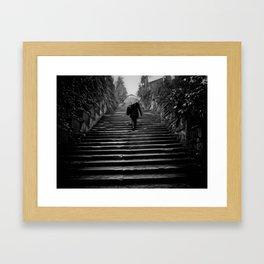 Piazzale Framed Art Print