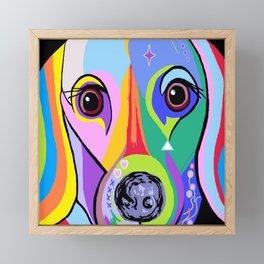 Dachshund 2 Framed Mini Art Print