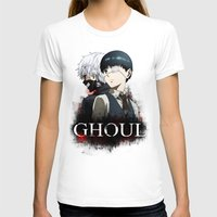 tokyo ghoul T-shirts featuring Tokyo Ghoul by 666HUGHES