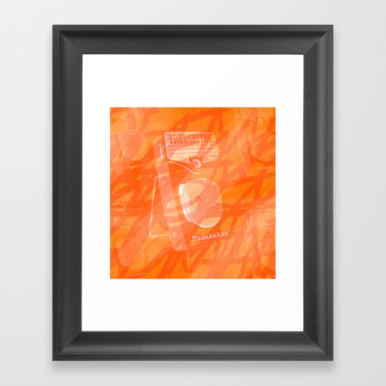 Play Me Like a Studebaker. Framed Art Print
