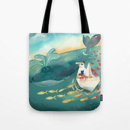 Adventures at Sea Tote Bag