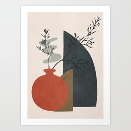 Abstract Elements 12 Art Print