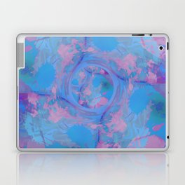 Blue Abstract Globe Design Laptop & iPad Skin
