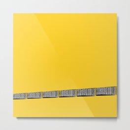 Mellow Yellow! Metal Print