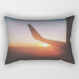 Arriving in Fiji Rectangular Pillow