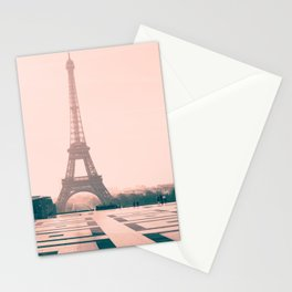 Eiffel tower in the early morning Stationery Cards