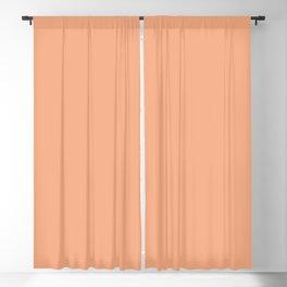 Best Seller Colors of Autumn Light Apricot Orange Single Solid Color - Accent Shade / Hue / Colour Blackout Curtain