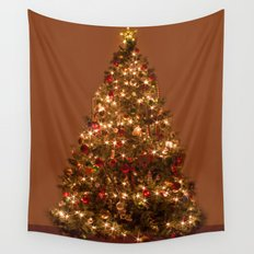 Christmas tree. Wall Tapestry