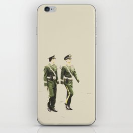 Marching Soldiers iPhone Skin