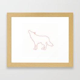 howlin Framed Art Print