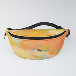 abstract spring sun Fanny Pack