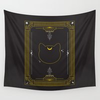 luna Wall Tapestries featuring Luna by Victoria Spahn