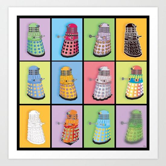 Dalek Dreams Art Print