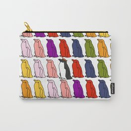 Penguin Waddle - How to stand out in a crowd Carry-All Pouch