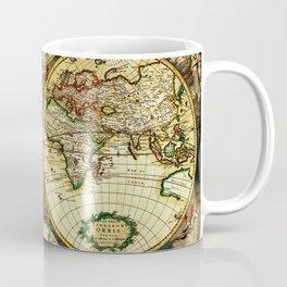 Ancient World Map 1689 Coffee Mug
