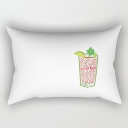 Bloody Mary Blessed of Cocktails Rectangular Pillow