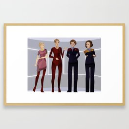 Ladies of Voyager Framed Art Print