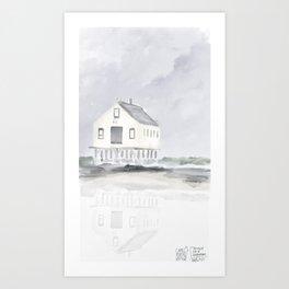 Cape Porpoise • Kennebunkport Art Print