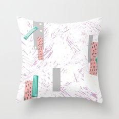 GRAPHIC. print, pattern, design, graphics, colour, illustration, art, design, Throw Pillow