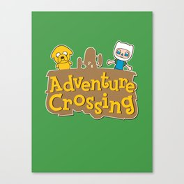 Adventure Crossing Canvas Print