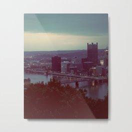 Pittsburgh III Metal Print