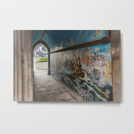 Graffiti Arch Metal Print