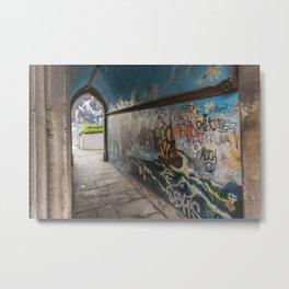 Graffiti Arch Metal Print