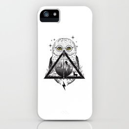 Owls and Wizardry iPhone Case