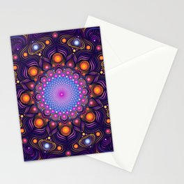 """Guardian"" Mandala painting Stationery Cards"