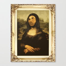 Ups! ( Mona Lisa - La Gioconda ) Canvas Print