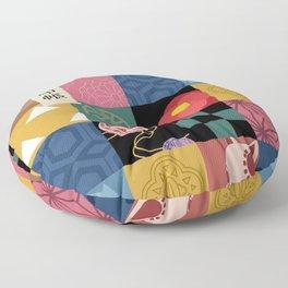 Kimetsu No Yaiba Haori Floor Pillow