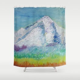 Mt. Hood 2018 Shower Curtain