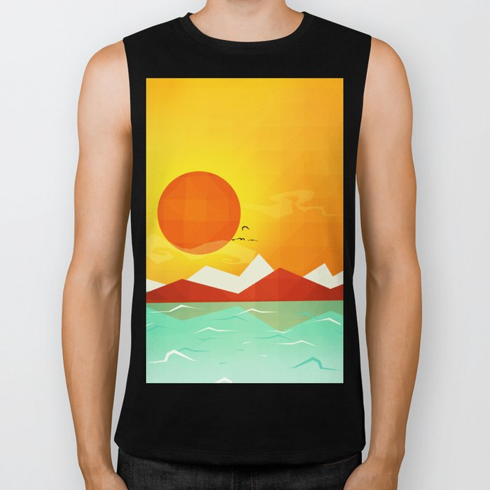 Inferno hot day - and we love it! Biker Tank