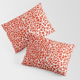 African American Masterpiece Alma Thomas, Red Azaleas Singing and Dancing Rock and Roll Music Pillow Sham