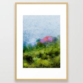 Suddenly, spring (all'improvviso, primavera) Framed Art Print