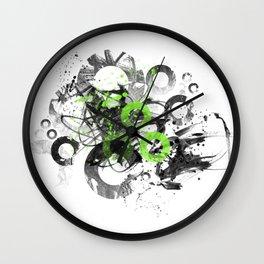 Abstract Art CIRCLES No. 3 Wall Clock